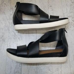 Universal Thread Shoes - Universal Thread Black Hummingbird Sandals sz 10